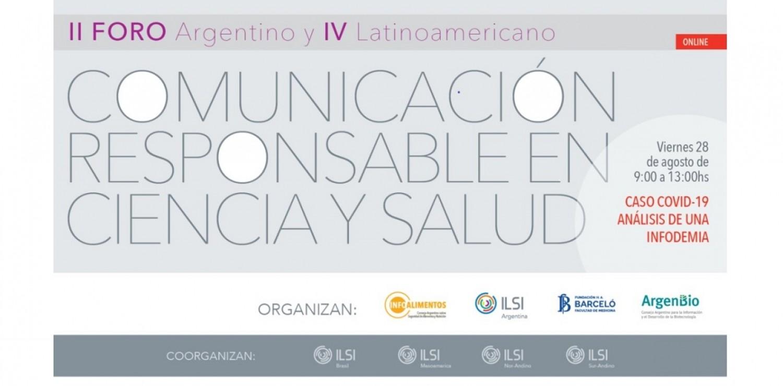 II Foro Argentino y IV Latinoamericano de Comunicación Responsable en Ciencia y Salud
