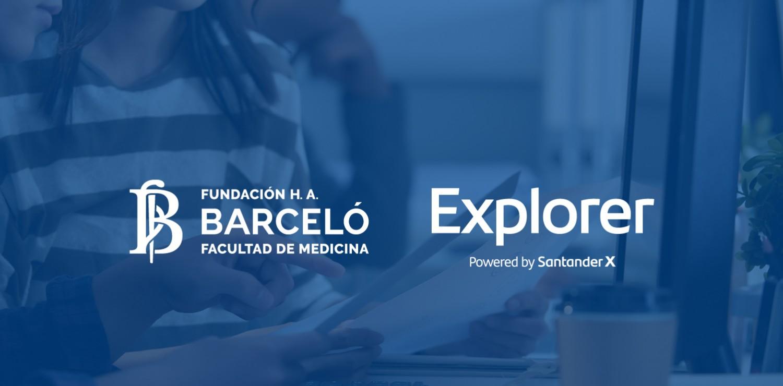 Fundación Barceló participa de la XII Edición del Programa de Emprendimiento Explorer del Banco Santander