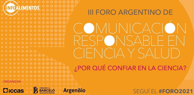 III Foro Argentino de Comunicación Responsable en Ciencia y Salud