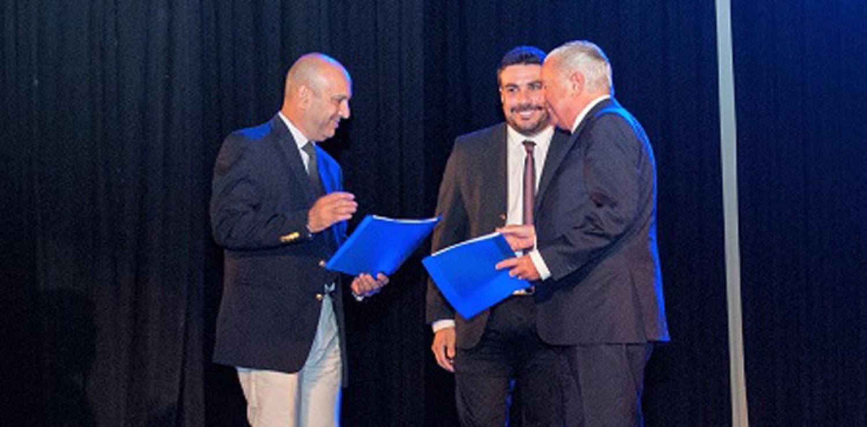 El Dr. Barceló distinguido por el Municipio Capital de La Rioja