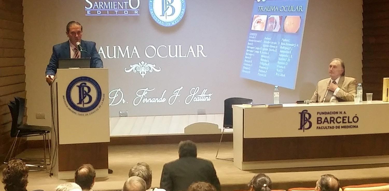 """Presentación de libros: """"Trauma Ocular"""" y """"Manual de Clínica Quirúrgica"""""""