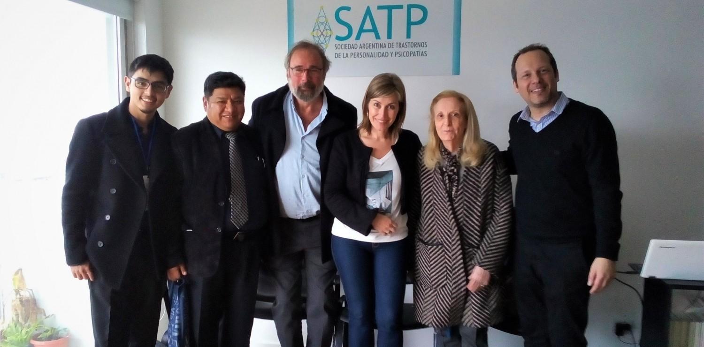 Directivos de la Lic. en Psicología presentes en el Primer Congreso Argentino sobre Trastornos de la Personalidad y Psicopatías